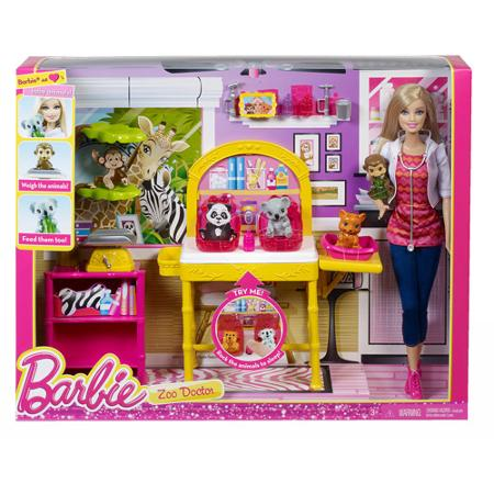 Barbie I Can Be Zoo Doctor Play Set For 9 Reg 24 99