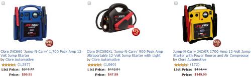 Clore Jump Starters