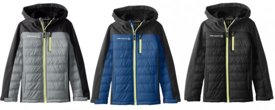 Free Country Big Boys' Hybrid Winter Coat