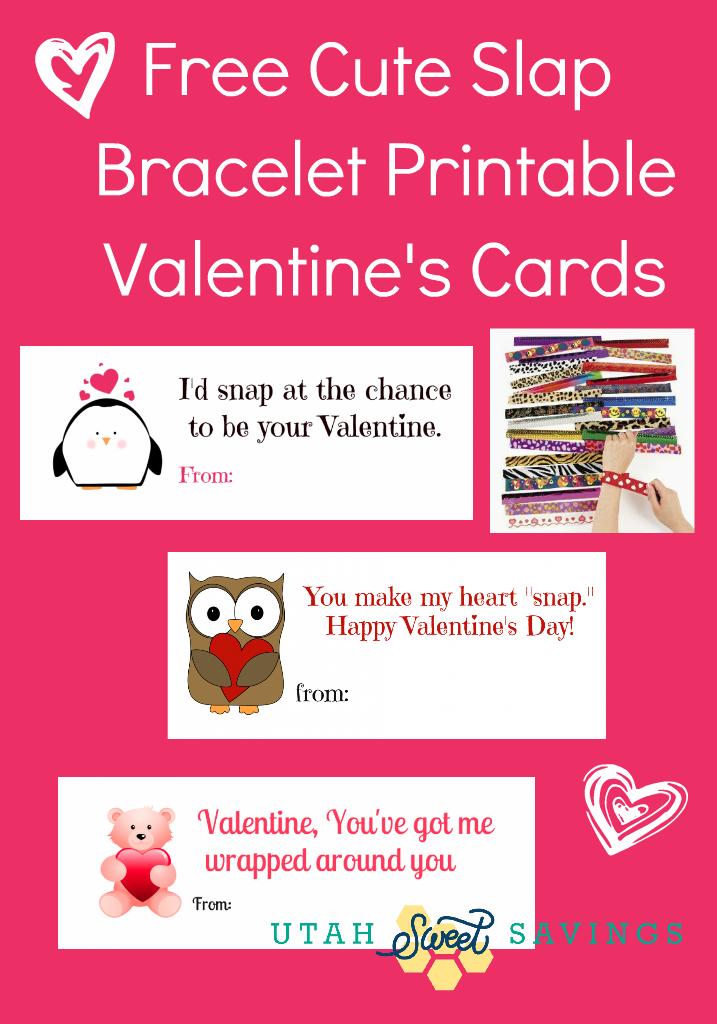Free Valentine's Day Card Printable