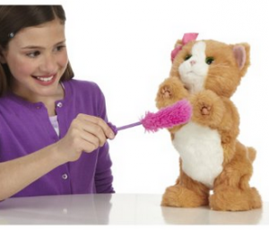 FurReal Friends Daisy Plays-With-Me Kitty Toy