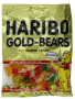 Haribo Gummi Candy, Original Gold-Bears