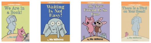 Mo Willems Elephant & Piggie Books