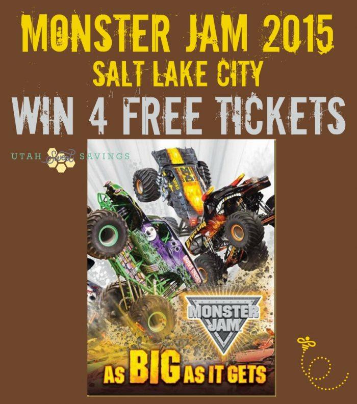 Monster Jam Salt Lake City 2015 Giveaway