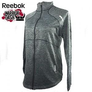 Reebok Ladies PlayDry Moisture Wicking Athletic Jacket - Warrior Dash Edition