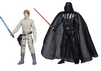 Star Wars Mission Series Figure Set (Darth Vader and Luke Skywalker)
