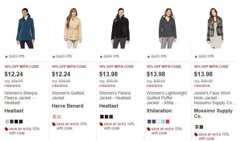 Target Coats