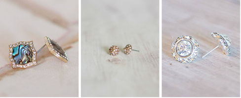 cents of style stud earrings