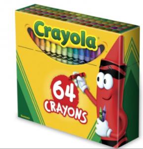 crayons 64
