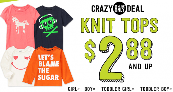 crazy 8 2.88 knit tops