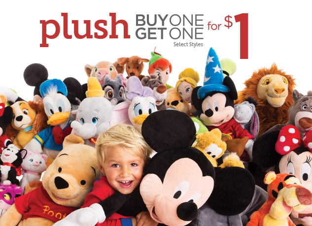 disneystore bogo plush