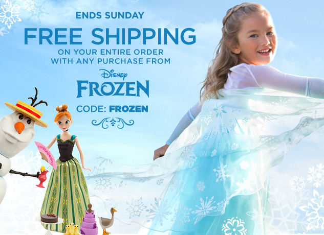 disneystore frozen sale 1