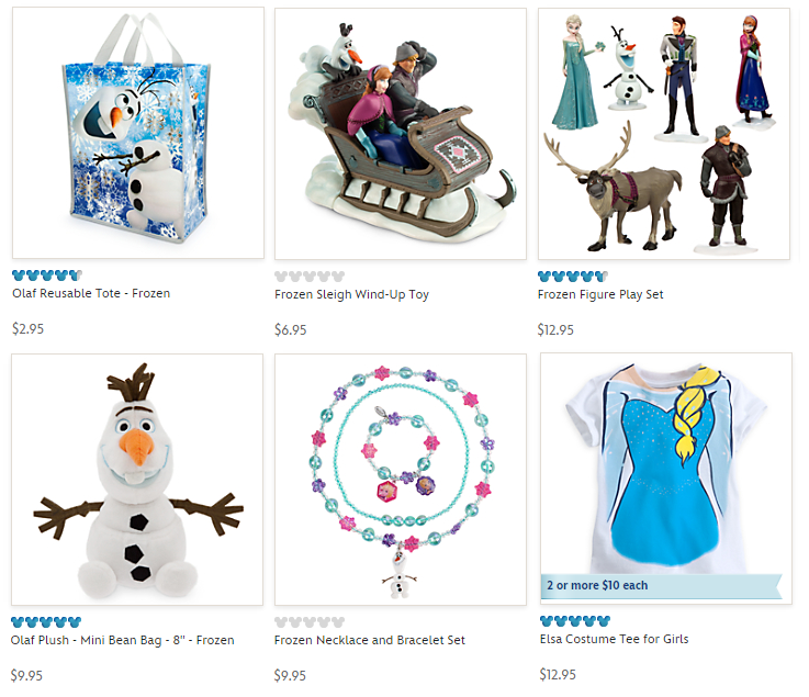 disneystore frozen sale
