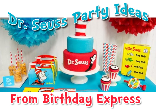 dr seuss birthday express party ideas