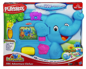 elephant crib toy