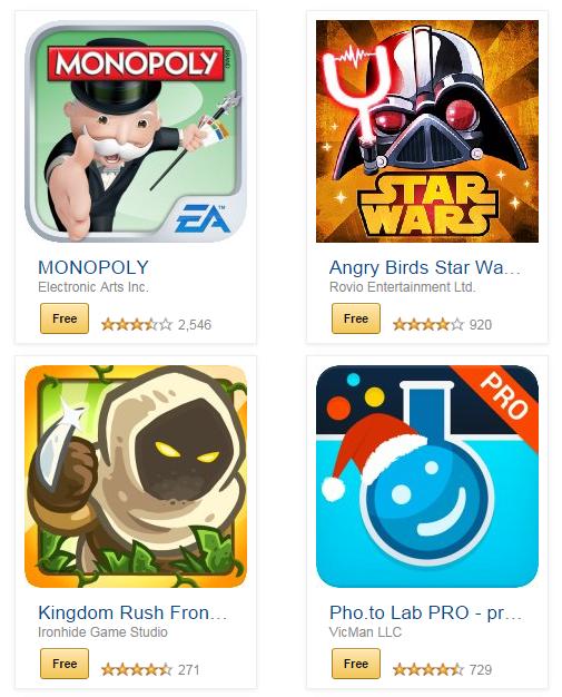 free apps amazon