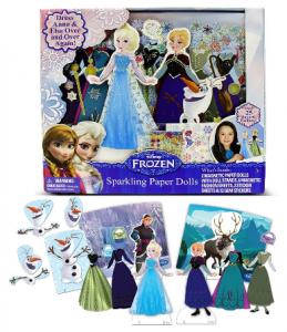 frozen paper dolls