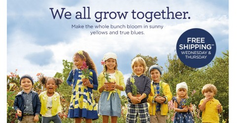 gymboree free shipping new arrivals