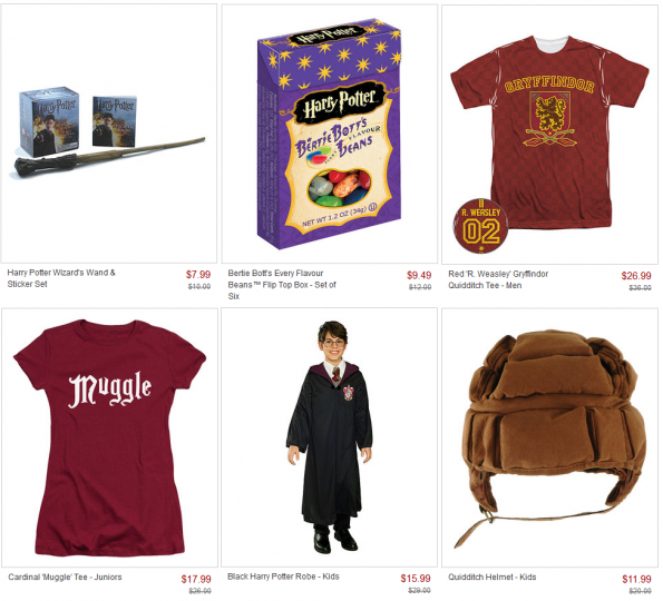 harry potter zulily sale
