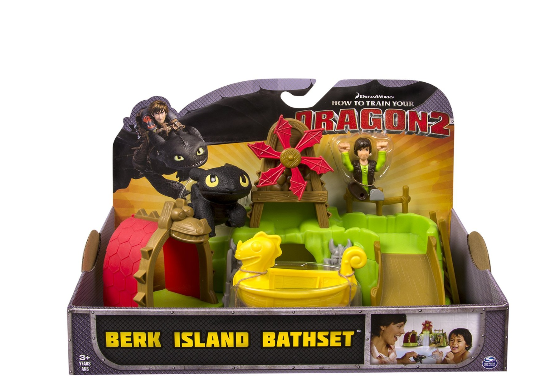 how to train your dragons bath set