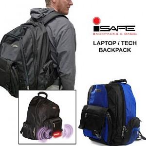 iSafe Built-In Alarm Safety Backpack