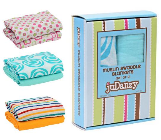 judanzy muslin swaddle blankets