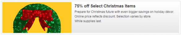lowes christmas clearance