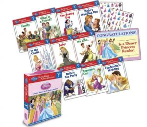 princess reading box set