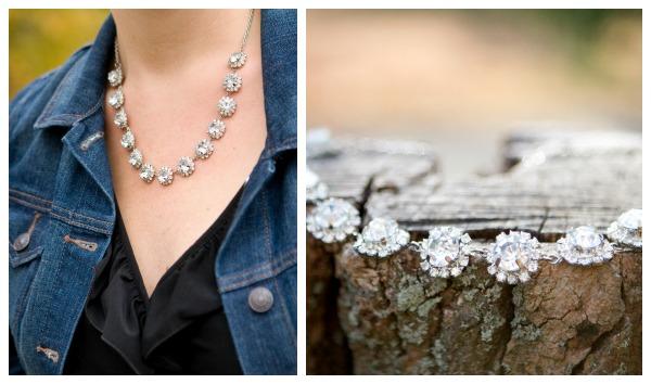 Dazzling Swarovski Crystal Necklace