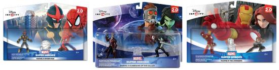 Disney INFINITY Marvel Super Heroes Play Sets