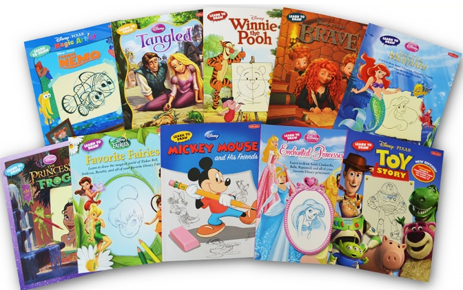 Disney Learn To Draw 10-Book Set