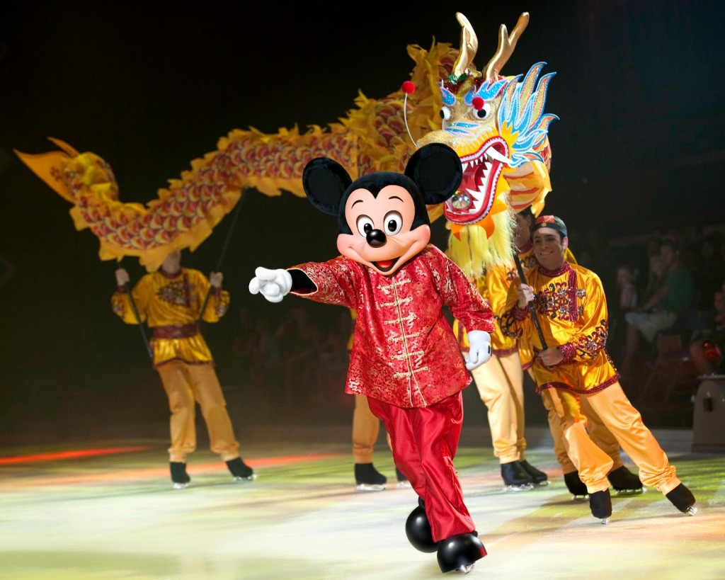 Disney on ice Chinese new year