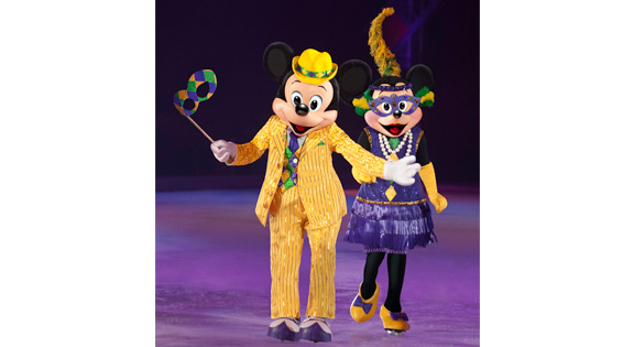 Disney on ice mardi gras