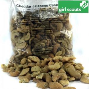 Girl Scouts 12 oz Bag of Cheddar Jalapeno Cashews