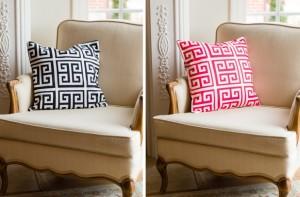 Greek Key 18 x 18 Pillow Covers