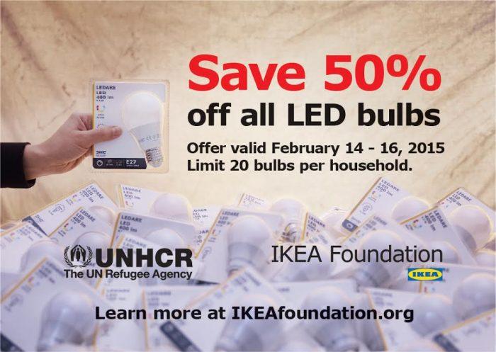 Ikea LED Bulbs