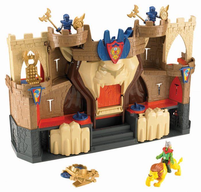 Imaginext lion den castle