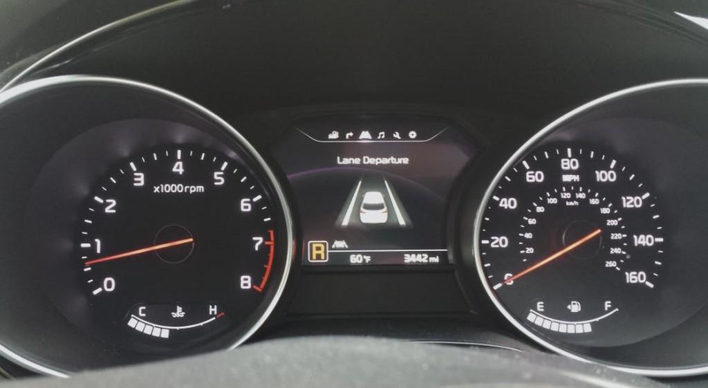 Kia lane departure