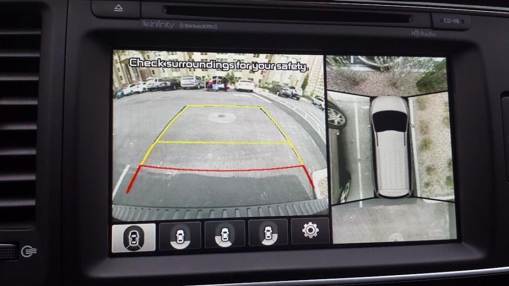 Kia parking