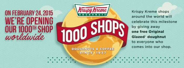 Krispy Kreme Free