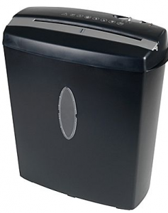 Omnitech 10-Sheet Cross-Cut Shredder