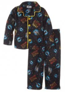 Star Wars Little Boys' Coat Pajama Set