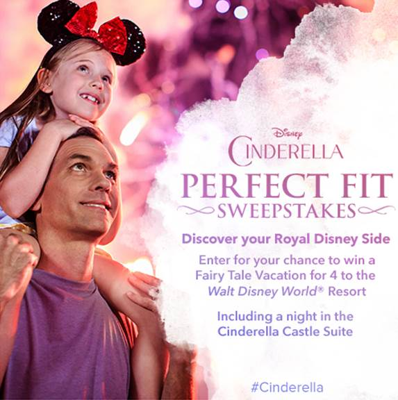 Walt Disney World Resort Enchanting Vacation Sweepstakes