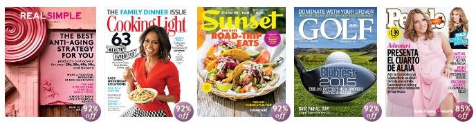 amazon $5 magazines