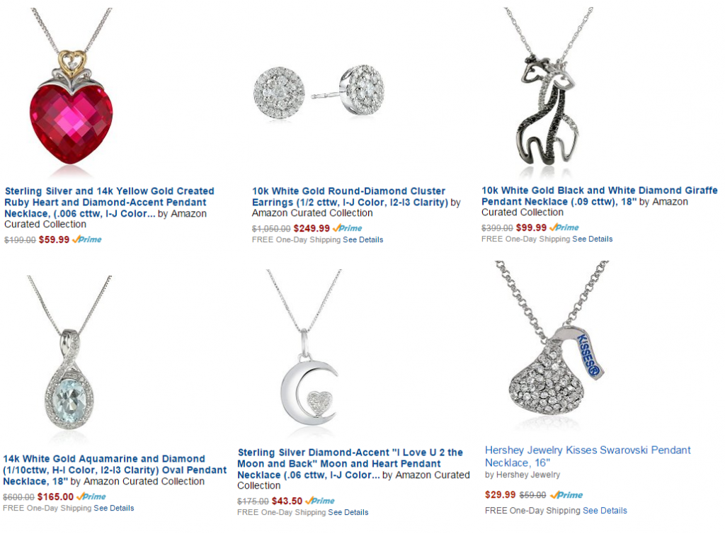 amazon jewelry deal