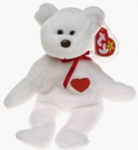 beanie baby valentine bear