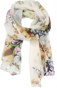 chinese ink scarf