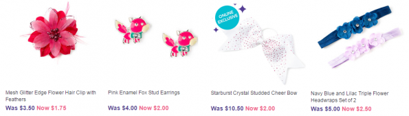 claires free shipping deals