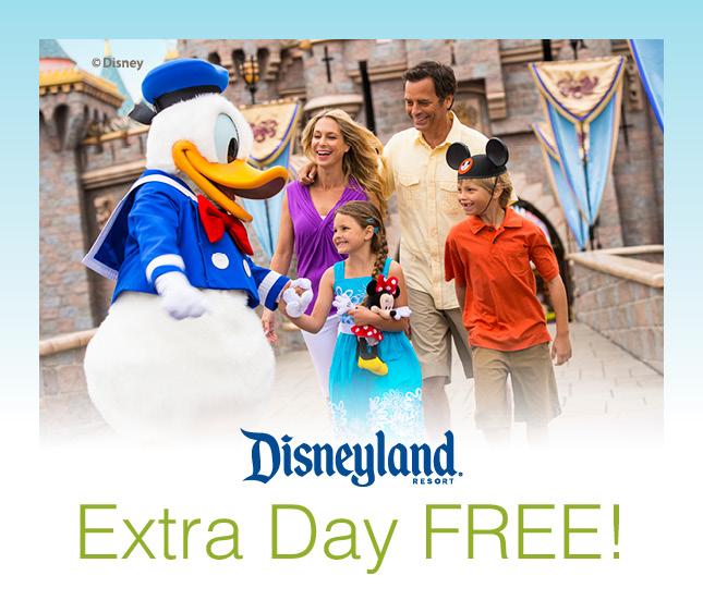 disneyland extra day free