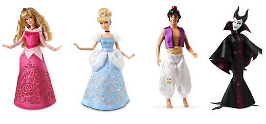 disneystore $8 classic dolls